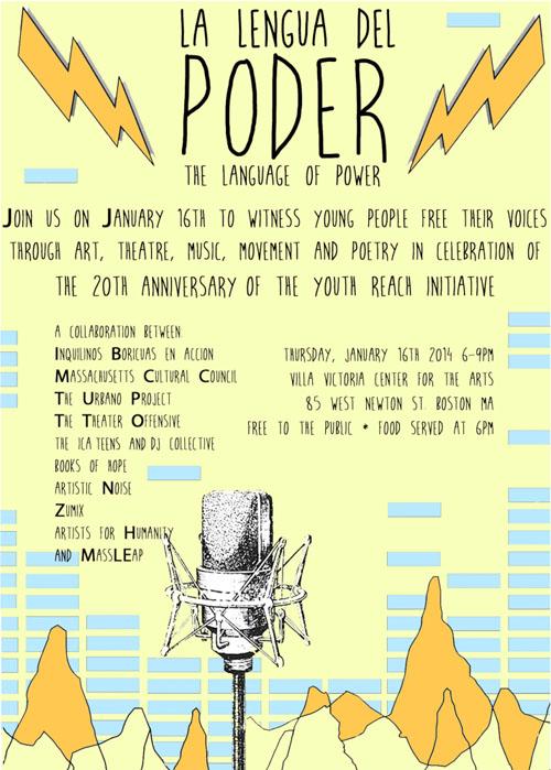 La Lenqua Del Poder event flyer