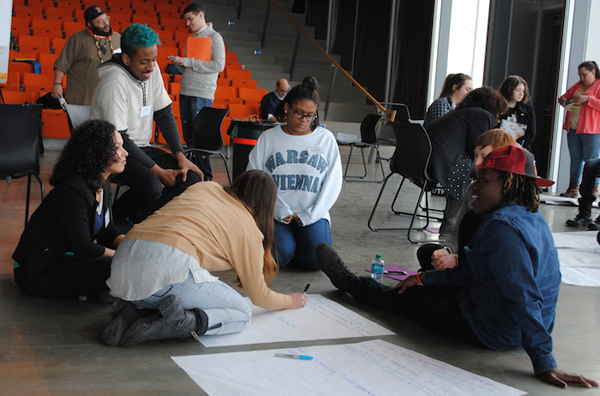 Youth Arts Action Initiative training. Photo by MASSCreative.