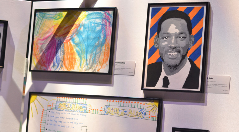 DYS Youth Showcase art exhibit