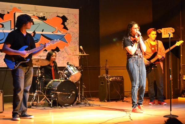 La Lenngua de Poder youth showcase at IBA in Boston in 2014.