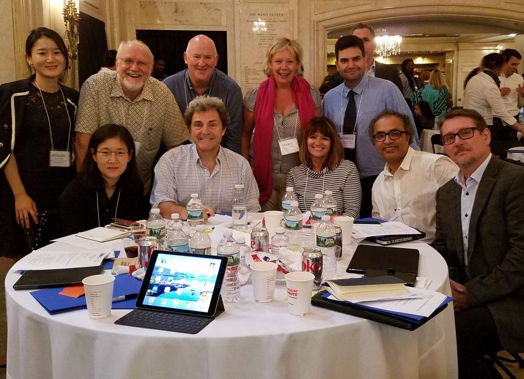 International CYD Leaders at Boston Convening