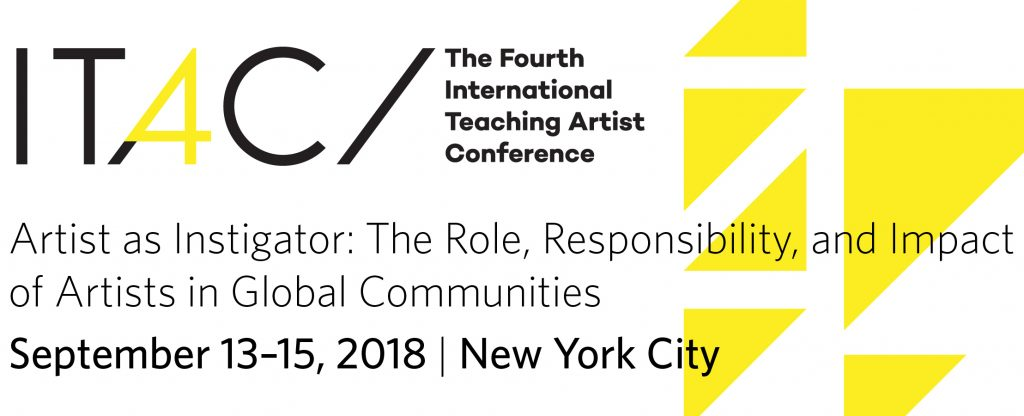 Fourth International Teaching Artist Conference (ITAC4) logo