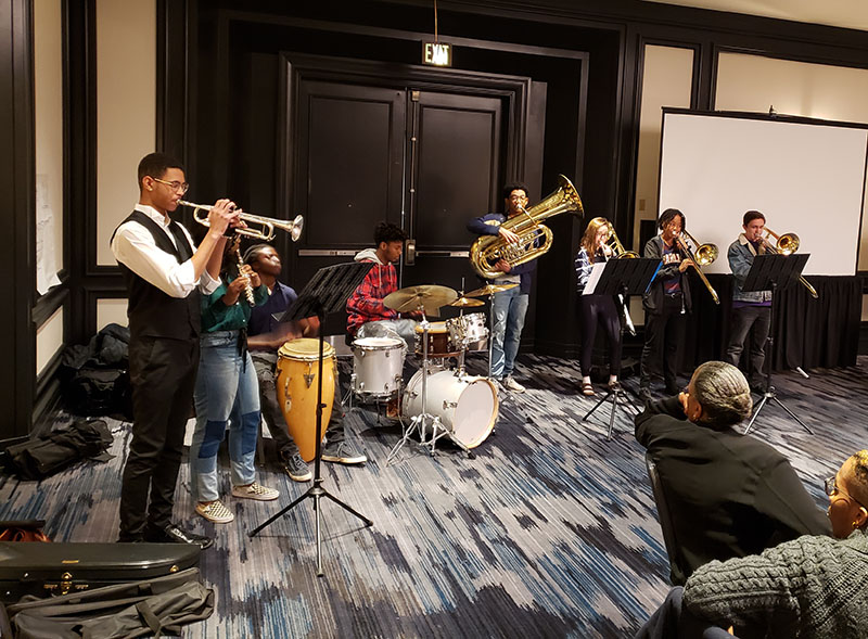 Performance at the Guild's 2018 preconference on Music Engagement